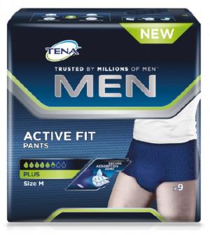 Afbeelding van Tena Men Active Fit Medium 5 pakken van 12 stuks