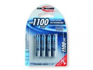 """Bild av """"Ansmann laddningsbara AAA 1100mah Batterier"""""""
