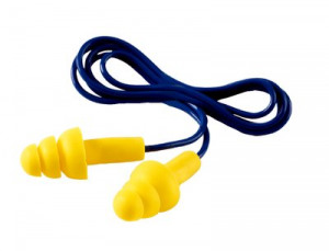 Afbeelding van 3M E A R UF 01 000 Ultrafit herbruikbare oordoppen met koord 32dB (50pr)