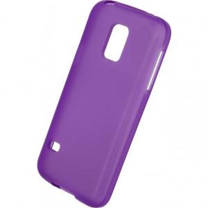 Afbeelding van Mobilize Gelly Case Samsung Galaxy S5 Mini Transparent Purple Mobili