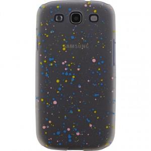 Afbeelding van Xccess Cover Spray Paint Glow Samsung Galaxy SIII I9300 Blue