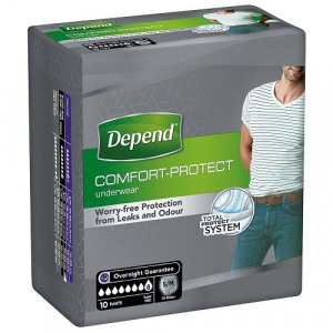 Afbeelding van Depend Pants For Men Super Small / Medium