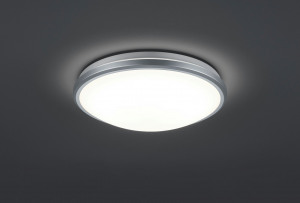 Obrázek Ceiling light gray incl. LED and motion detector Captur