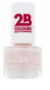 Afbeelding van 2B Nagellak Mega Colours Mini 03 Adorable Pink