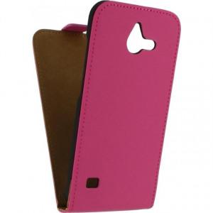 Afbeelding van Mobilize Ultra Slim Flip Case Huawei Ascend Y550 Fuchsia