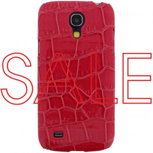 Afbeelding van Xccess Croco Cover Samsung Galaxy S4 Mini I9195 Fuchsia