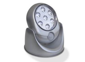 Afbeelding van Deluxa Light Angel Sensor Lamp LED Zilver