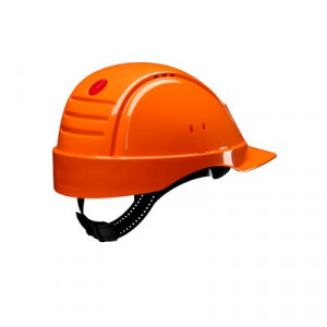Afbeelding van 3M Peltor G2000DUV OR Veiligheidshelm met pinlock Oranje Leren sweatband