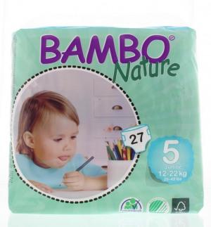 Afbeelding van Bambo Nature babyluier 5 15 22kg 27st