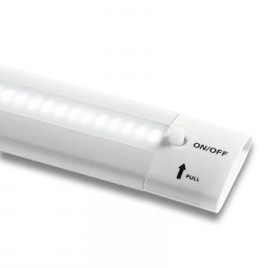 Afbeelding van Fabas Luce led 16W meubelonderbouwlamp Galway 6690, wit, voor keuken, aluminium, polycarbonaat, 16 W, energie efficiëntie: A+, L: 100 cm, B: 3.3 H: 1 cm