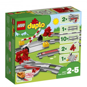 Afbeelding van 10882 LEGO® DUPLO® treinrails