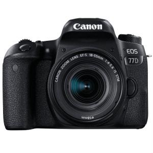 Afbeelding van Canon EOS 77D + 18 55mm IS STM spiegelreflexcamera