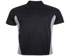 Image of Airosportswear Matchday Polo Navy/Silver