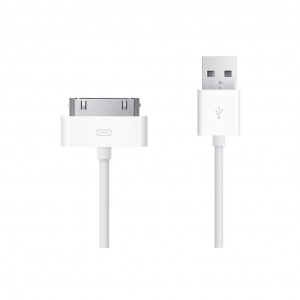 Afbeelding van 30 pins naar USB kabel 1 meter Apple
