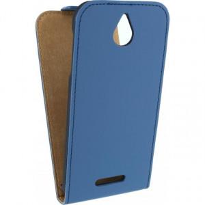 Afbeelding van Mobilize Ultra Slim Flip Case HTC Desire 510 Blue