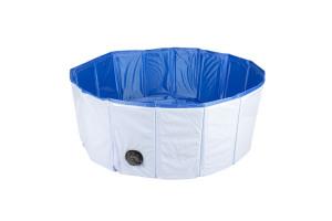 Afbeelding van Hondenzwembad blauw Doorsnee 120 cm 30 cm hoog