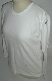 Image of98 Degrees 98o white skinny fit long sleeve UK t shirt PROMO T SHIRT