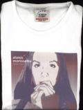 Image ofAlanis Morissette Hands Clean Skinny Fit Medium Lady Fit 2002 UK t shirt PROMO T SHIRT
