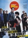 Image ofArcade Fire Observer Music Monthly 2007 UK magazine