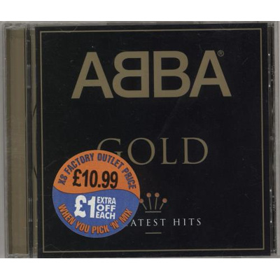 Image of Abba Abba Gold: Greatest Hits (Music CD)
