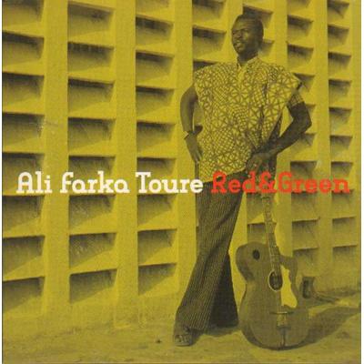 Image of Ali Farka Toure Red & Green 2004 UK 2 CD album set WCD070