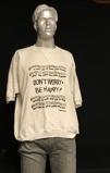 Εικόνα τουBobby McFerrin Don't Worry Be Happy 1988 UK clothing FLEECE TOP