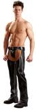 Afbeelding vanWetlook Kleding Mannen Kunstleren Chaps Small Svenjoyment Underwear