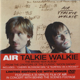 Image ofAir (French) Talkie Walkie 2004 UK 2 disc CD/DVD set CDVX2980