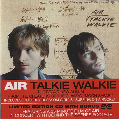 Image of Air (French) Talkie Walkie 2004 UK 2 disc CD/DVD set CDVX2980