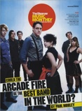 Imagine dinArcade Fire Observer Music Monthly 2007 UK magazine
