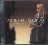 Image ofAgnetha Fältskog That's Me The Greatest Hits 1998 German CD album 539928 2