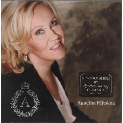 Image of Agnetha Fältskog A 2013 Malaysia CD album 0602537321841