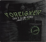 Image ofForeigner Can't Slow Down...When It's Live! 2010 German CD album 0205685ERE