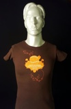 Imagine dinArctic Monkeys Live at Lancashire Country Cricket Ground Brown 2007 UK t shirt T SHIRT