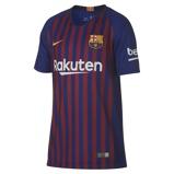 Image of2018/19 FC Barcelona Stadium Home Older Kids' Football Shirt - Blue