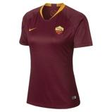 Image of2018/19 AS Roma Stadium Home Women's Football Shirt - Red