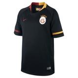 Image of2018/19 Galatasaray S.K. Stadium Away Older Kids' Football Shirt - Black