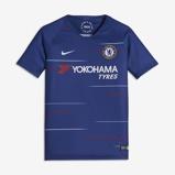 Image of2018/19 Chelsea FC Stadium Home Older Kids' Football Shirt - Blue