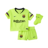 Image of2018/19 FC Barcelona Stadium Away Baby& Toddler Football Kit - Yellow