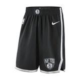 Imagine dinBrooklyn Nets Icon Edition Swingman Men's Nike NBA Shorts Black