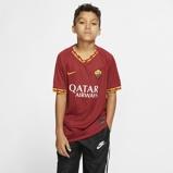 Εικόνα τουA.S. Roma 2019/20 Stadium Home Older Kids' Football Shirt Red