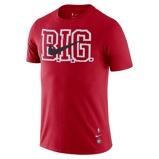 Imagine dinBrooklyn Nets Nike Dri FIT NBA T Shirt Red
