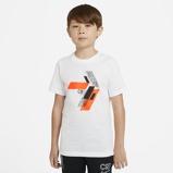 Imagine dinCR7 Older Kids' Football T Shirt White