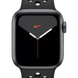 Εικόνα τουApple Watch Nike Series 5 (GPS) with Nike Sport Band 44mm Space Grey Aluminium Case Black