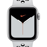 Εικόνα τουApple Watch Nike Series 5 (GPS + Cellular) with Nike Sport Band 44mm Silver Aluminium Case Silver
