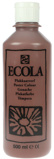 Afbeelding vanPlakkaatverf Talens ecola flacon van 500 ml, bruin kopen