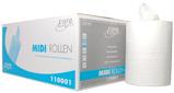 Afbeelding vanEuroproducts handdoekrol Midi, 1 laags, doos van 6 stuks