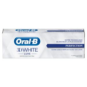 Afbeelding van 12x Oral B Tandpasta 3DWhite Luxe Perfection 75 ml