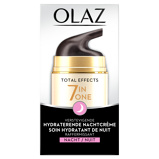 Afbeelding van4x Olaz Total Effects 7 in 1 Anti veroudering Nachtcrème 50 ml