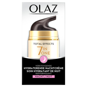 Afbeelding van 4x Olaz Total Effects 7 in 1 Anti veroudering Nachtcrème 50 ml